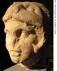 Head of Alexander the Great wearing a lion-skin, circa 300 BC at The Cheshire Cat Blog