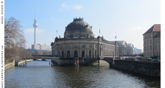 The Bode Museum on the River Spree, Berlin at The Cheshire Cat Blog