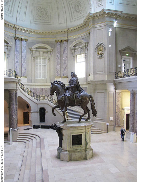 Equestrian statue of Prussian Emperor Friedrich III, Bode Museum, Berlin at The Cheshire Cat Blog