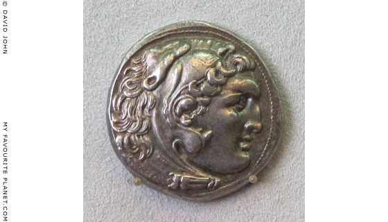 Silver Alexander the Great tetradrachm from Macedonia, circa 310-275 BC at The Cheshire Cat Blog