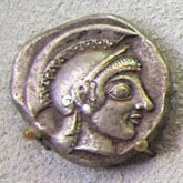 Athenian drachma, circa 500 BC at The Cheshire Cat Blog