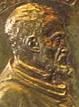 Michelangelo Buonarotti, medallion 1561, Bodenmuseum Berlin, at The Cheshire Cat Blog