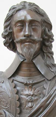 Bronze statue of King Charles I of England after Hubert le Sueur, Paris around 1580 - 1670 London, cast early 18th century, at The Cheshire Cat Blog