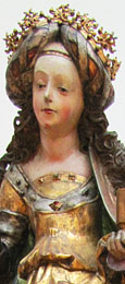Statue of Mary Magdelane, Tyrol 1620, at The Cheshire Cat Blog