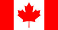 The Canadian flag at The Cheshire Cat Blog