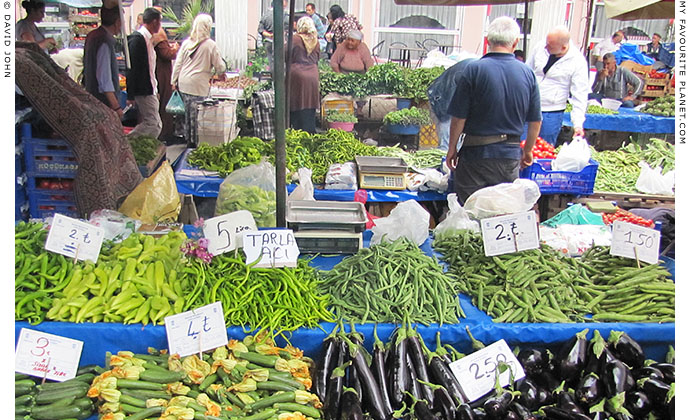 Saturday market in Selcuk, Turkey at The Cheshire Cat Blog