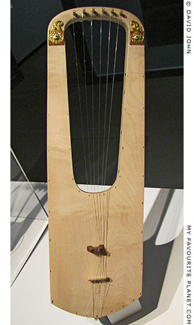 Replica of the Sutton Hoo Lyre in the Pergamon Museum, Berlin
