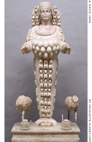 Statue of Ephesian Artemis in the Ephesus Museum, Selçuk, Turkey