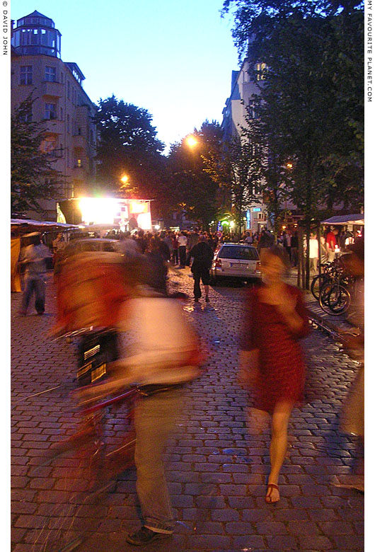 Dancing in the streets of Berlin at The Cheshire Cat Blog