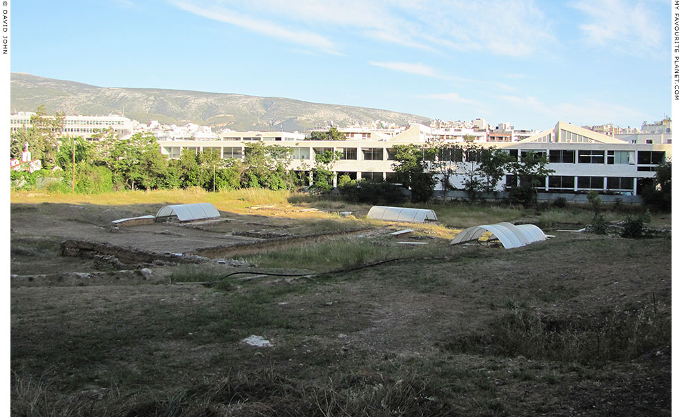 The site of the Lyceum, Athens in May 2011 at The Cheshire Cat Blog