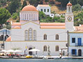 photos of Agios Giorgos Tou Pigadiou church in Kastellorizo town, Greece at My Favourite Planet