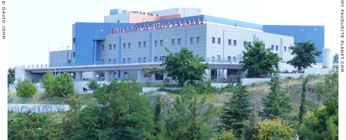 The new Kavala General Hospital, Kavala, Macedonia, Greece at My Favourite Planet