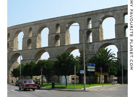 The Kamares aqueduct, Kavala, Macedonia, Greece at My Favourite Planet