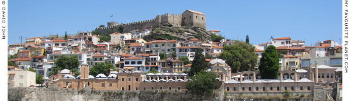 The Imaret and the Kastro in the old Panagia district of Kavala at My Favourite Planet