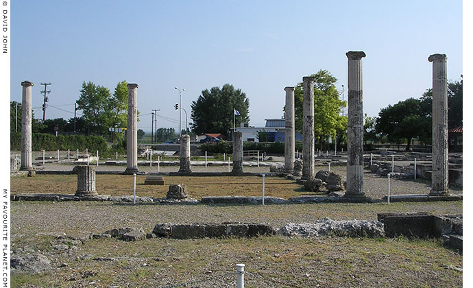 House of Dionysos, Pella, Macedonia, Greece at My Favourite Planet