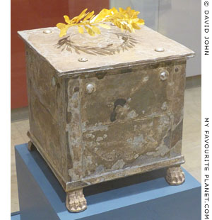 The silver ossuary of Brasidas in Amphipolis at My Favourite Planet