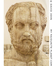 Portrait of the Greek historian Thucydides at My Favourite Planet