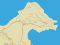 Plan of Ancient Stageira, Halkidiki, Macedonia, Greece at My Favourite Planet