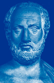 Marble bust of Thucydides