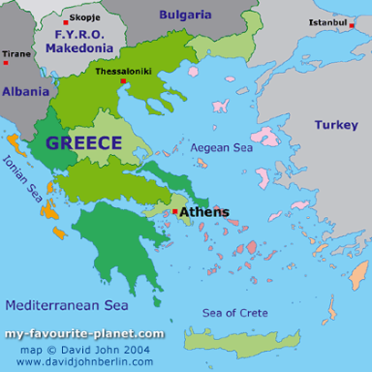My Favourite Planet - Geography of Greece