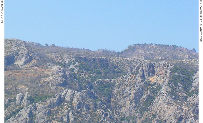 Limestone hills on the south coast of Samos, near Pythagorio at My Favourite Planet