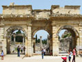 The Gate of Mazeus and Mithridates, Ephesus, Turkey at My Favourite Planet