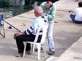 haircut on the quay, Kusadasi, Turkey at My Favourite Planet
