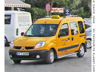 A taxi in Kusadasi, Turkey at My Favourite Planet