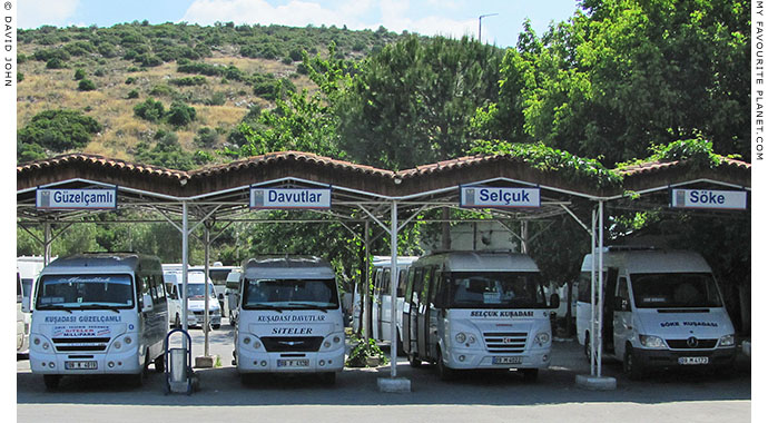 The main otogar (bus station), Kusadasi, Turkey at My Favourite Planet