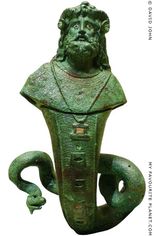 Statuette of the god Serapis Amun Agathodaemon at My Favourite Planet