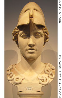 Head of Athena of the Velletri-type at My Favourite Planet