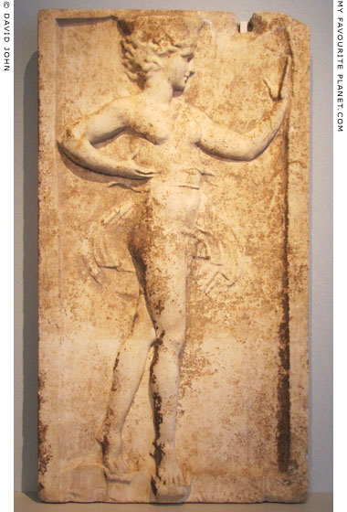 The Kalathiskos Dancer relief in the Altes Museum, Berlin at My Favourite Planet
