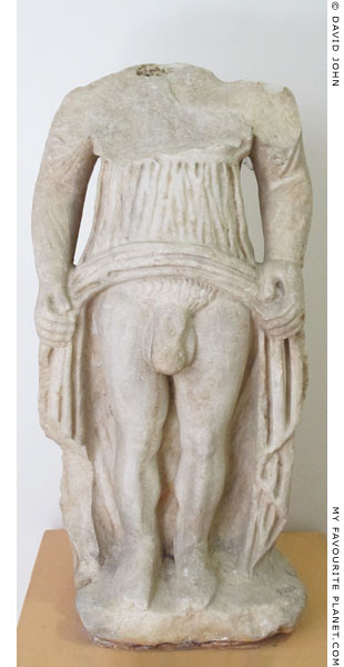 Statue of Hermaphroditus from Izmir at My Favourite Planet