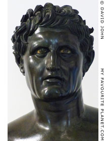 Bronze bust of Seleucus I at My Favourite Planet