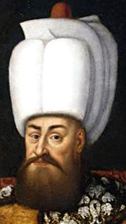 Painting of Ottoman Sultan Murad III at My Favourite Planet