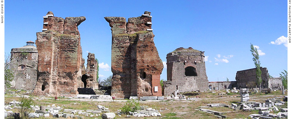 The Red Basilica Bergama - My Favourite Planet