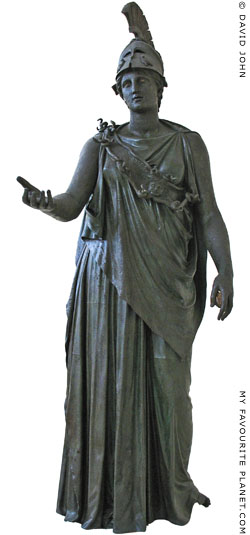 The Bronze statue known as the Piraeus Athena