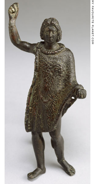 Bronze statuette of the Alexander Aigiochos, Walters Art Museum, Baltimore at My Favourite Planet