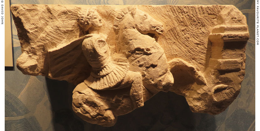 An early Hellenistic relief of a Macedonian cavalryman at My Favourite Planet