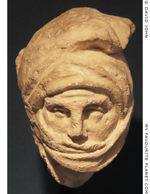 A head of a Persian warrior from Tarentum at My Favourite Planet