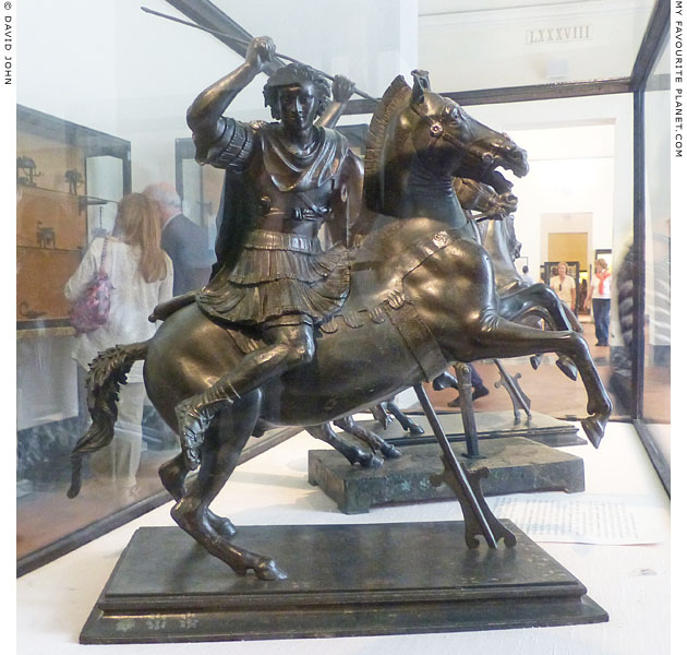 Equestrian statuette of Alexander the Great from Herculaneum at My Favourite Planet
