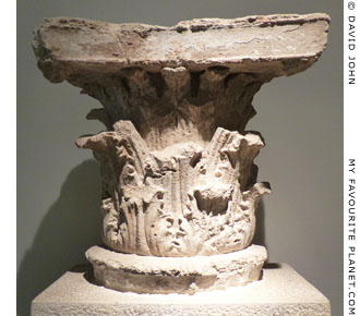 A Corinthian capital from the cella of the Philippeion, Olympia at My Favourite Planet
