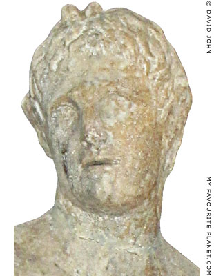 Head of Alexander the Great as Pan, Pella, Macedonia, Greece at My Favourite Planet