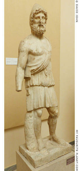 Marble statue of Hephaistos, Ostia at My Favourite Planet