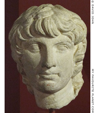Head of a young man of the Antiochos type at My Favourite Planet