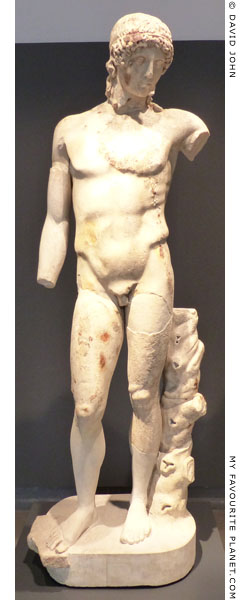 The Tiber Apollo statue, Palazzo Massimo, Rome at My Favourite Planet