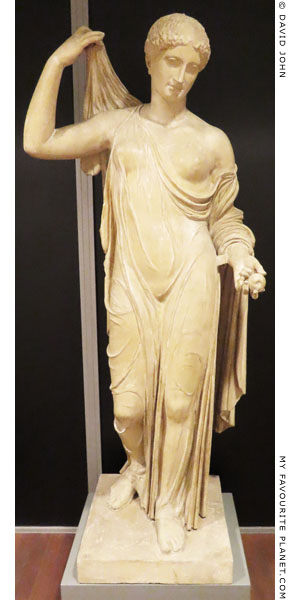 A plaster cast of the Aphrodite Fréjus statue at My Favourite Planet