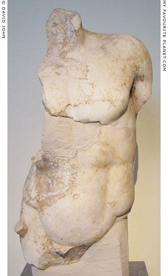 Marble torso of Theseus at My Favourite Planet