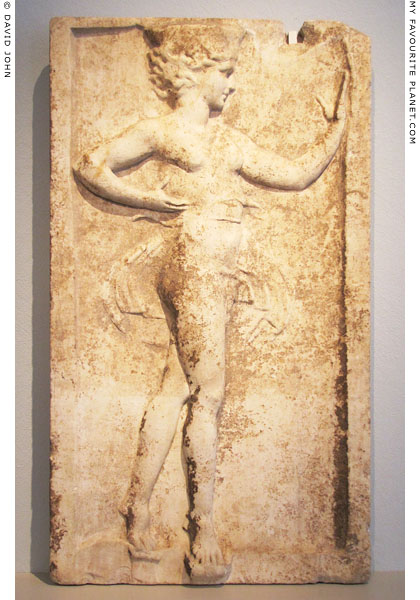 The Kalathiskos Dancer relief, Altes Museum, Berlin at My Favourite Planet