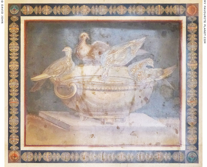 The mosaic of the doves, Capitoline Museums, Rome at My Favourite Planet